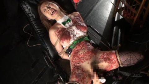 【SM調教】蝋燭を垂らされて苦悶に歪む女の表情がたまらないエロ画像集(30枚)・2枚目