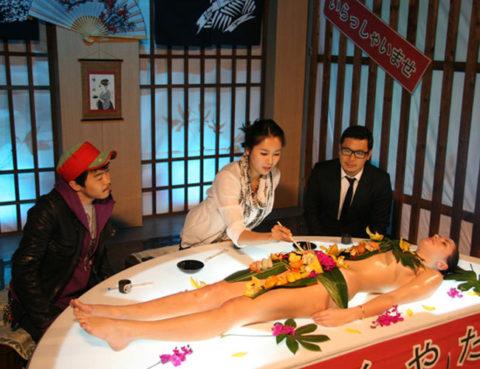 もはや昭和の遺物となった女体盛りのエロ画像集(30枚)・24枚目