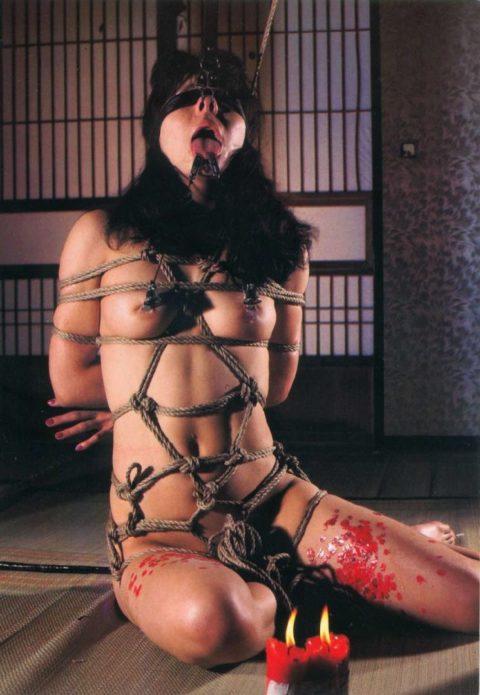 【SM調教】蝋燭を垂らされて苦悶に歪む女の表情がたまらないエロ画像集(30枚)・24枚目