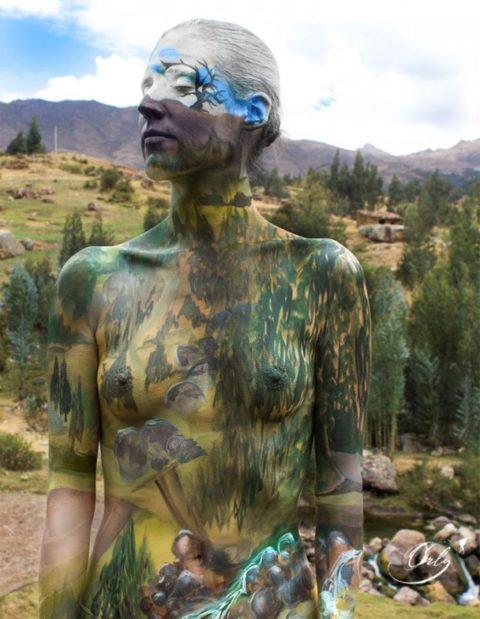風景の中に隠れた全裸女性を探す画像集(30枚)・22枚目