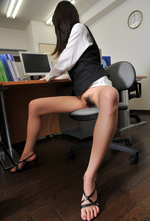 【ブラック企業】女性事務員を下半身スッポンポンで働かせてみた結果wwwwwwwww(画像あり)・27枚目