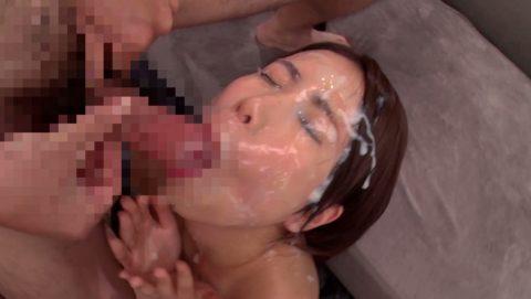 【ブス厳禁】美女しか許されない顔面ザーメンシャワーのエロ画像集(30枚)・6枚目