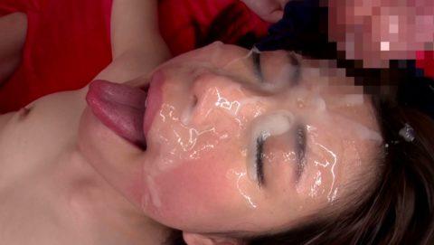 【ブス厳禁】美女しか許されない顔面ザーメンシャワーのエロ画像集(30枚)・9枚目