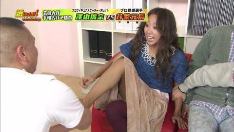 テレビで女性芸能人の足つぼを押すマッサージ師って絶対興奮してるよね(画像25枚)・12枚目