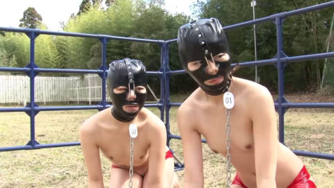 【SM調教】目隠しに飽きたドS野郎に是非試していただきたいマスクがこちらwwwww(画像30枚)・20枚目