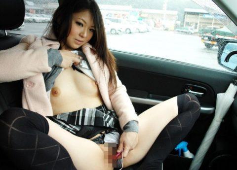 【画像あり】ドM彼女に助手席でオナニーさせるの楽しすぎwwwwwwwwwww・19枚目
