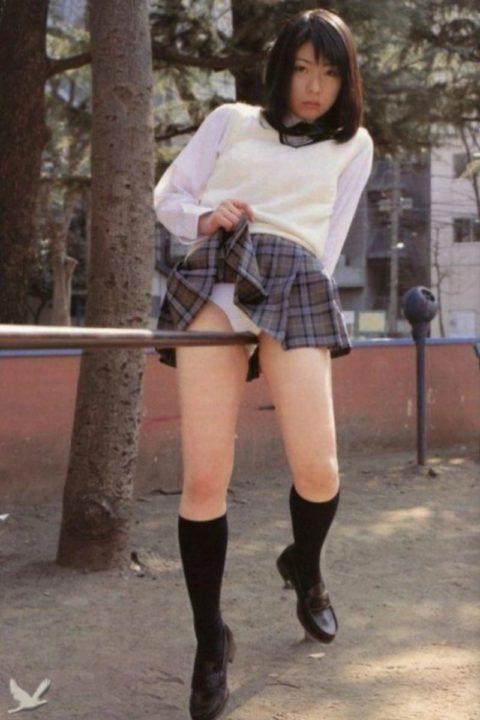 ミニスカ女子をブランコで遊ばせてみた結果wwwwwwwwwwww(26枚)・19枚目