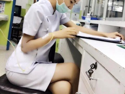 エロ過ぎてクビになった(?)というタイの看護師さんの画像集(28枚)