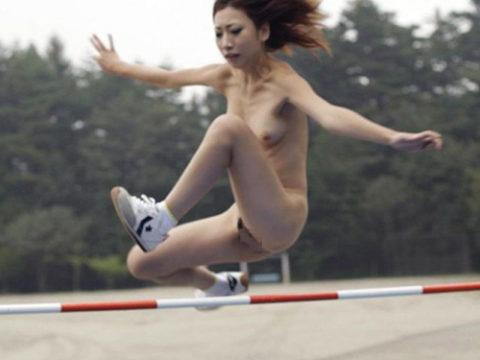 スポーツ女子を全裸にして見るとこうなる(画像30枚)・1枚目