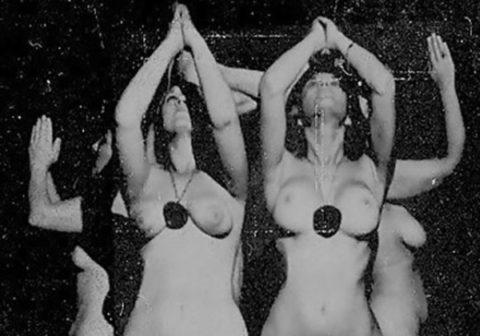 【※閲覧注意】闇深カルト教団の儀式が公開され世界に戦慄が走る・・・。(画像あり)