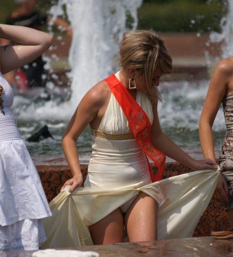 【盗撮】初夏の噴水がパンチラスポットだって知ってた?(画像30枚)・13枚目