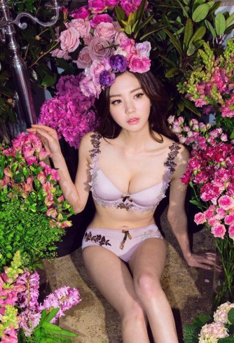 顔面とスタイルが特徴的な韓国の下着モデル画像集(30枚)・14枚目