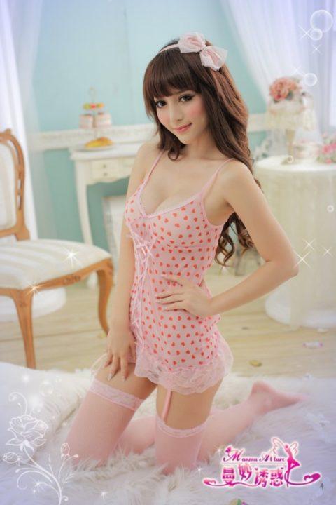 香港の下着モデルが細いのに巨乳とかいう奇跡の体型揃いで抜いた・・・(画像30枚)・19枚目
