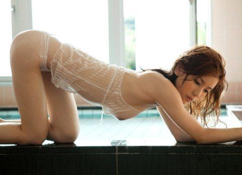 裸よりエロいスケスケ下着で誘惑してくる女の画像集(30枚)・22枚目