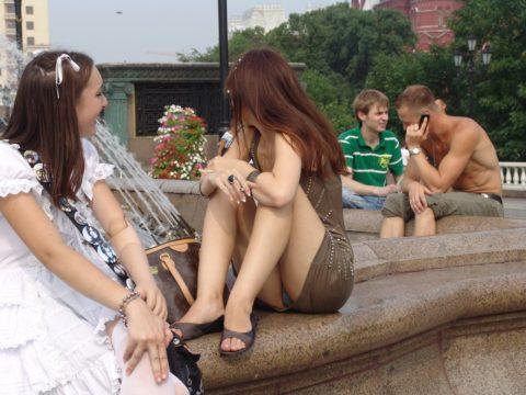 【盗撮】初夏の噴水がパンチラスポットだって知ってた?(画像30枚)・24枚目