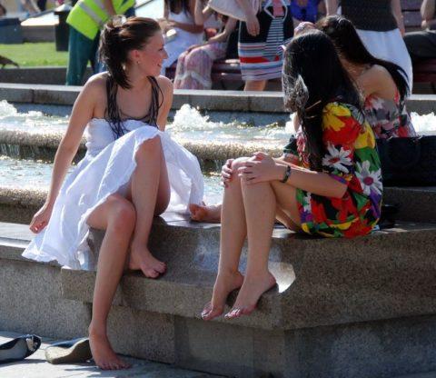 【盗撮】初夏の噴水がパンチラスポットだって知ってた?(画像30枚)・29枚目