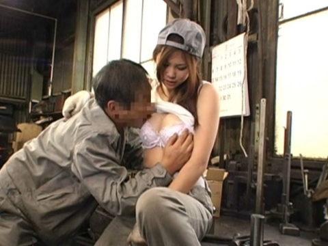 作業着姿が生々しい肉体労働女子のエロ画像集(26枚)
