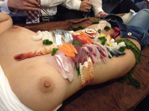 世界が驚く(呆れる?)日本が誇る「女体盛り」とかいうエロ文化(画像30枚)・26枚目