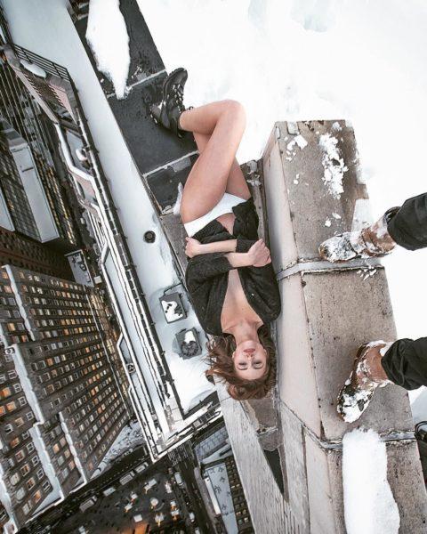 高所と美女のヌードがWでチンコを刺激してくれるセクシー画像集(30枚)・29枚目