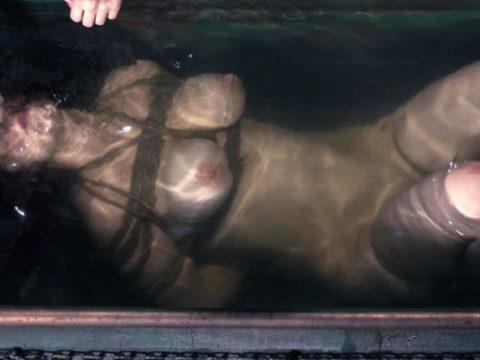見てるだけで息苦しくなる水責めプレイのエロ画像集(42枚)・1枚目