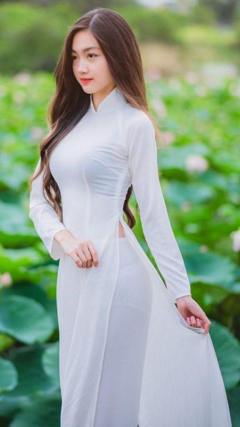 ベトナム行ったら一発でヤラれちゃうアオザイ美女たちの画像集(25枚)・13枚目