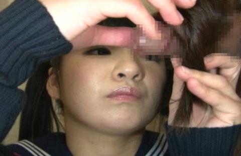 女の命・美しい黒髪を汚す「髪コキ」エロ画像集(27枚)・3枚目