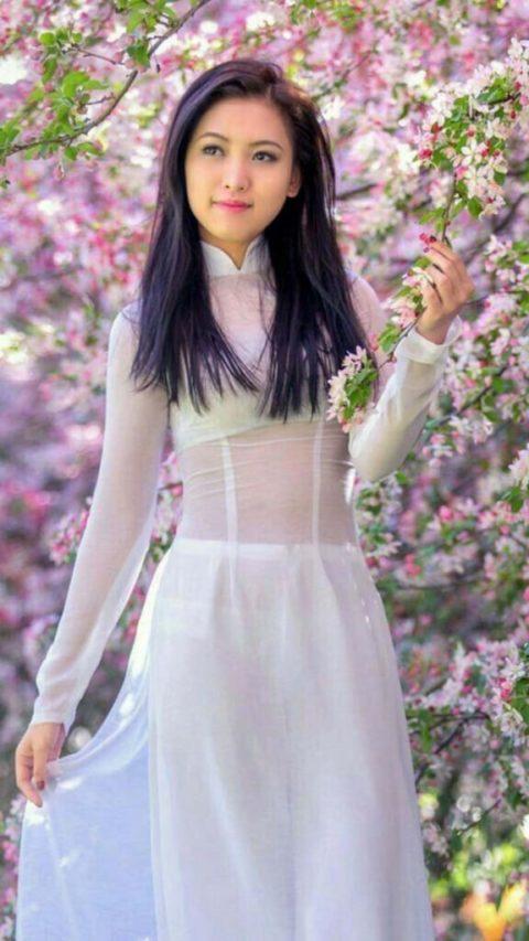 ベトナム行ったら一発でヤラれちゃうアオザイ美女たちの画像集(25枚)・24枚目