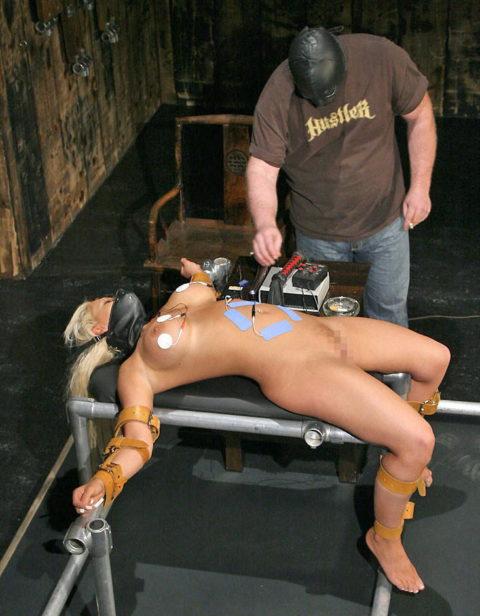 【SM調教】女を電流でビリビリさせる拷問プレイ画像集(30枚)・26枚目