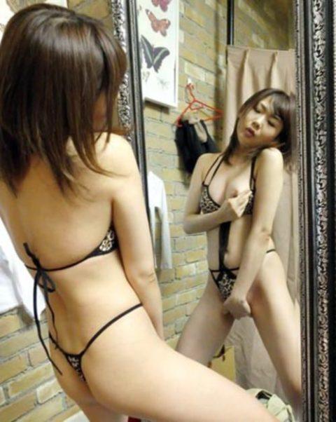 【興奮度倍増】鏡オナニー女子の画像集(30枚)・7枚目