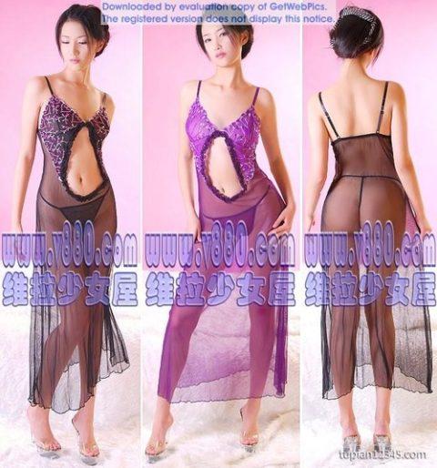 中国のエロ下着のモデルのズリネタレベルが高すぎる件(画像25枚)・7枚目