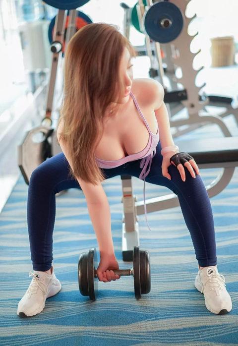 むしろ汗だくになってほしいスポーツウェアを着たセクシーな女の子(画像40枚)・1枚目