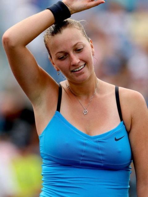 【透け乳首】翻弄作戦?もはや故意としか思えないテニスプレーヤーのポッチ画像集(29枚)・14枚目