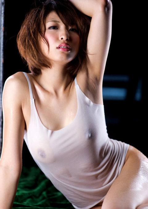 乳首解禁初級によく使われる濡れ透けエロ画像集(30枚)・19枚目