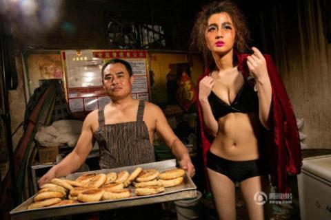 【こマ!?】普通のレストランで水着ギャルが接客する中国のセクシービジネス(画像32枚)・31枚目