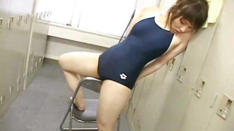 【スク水オナニー】ロリ●ンオヤジの股間を静めるエロ画像集(33枚)・11枚目