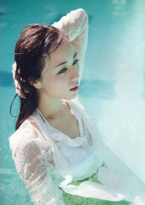 【比嘉愛未】胸チラあり水着あり!清楚系女優をエロ目線で見てみる(画像60枚)・34枚目