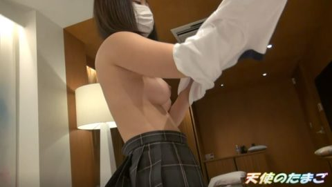 【素人】清純そうな制服女子がおっぱいを使い方をマスターしてるんやが…エッロwwwww・11枚目