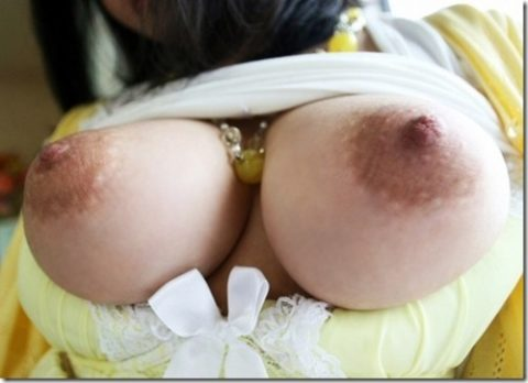 萎える?逆に萌える?ガッカリ乳首・乳輪の女の子たち(画像36枚)・17枚目