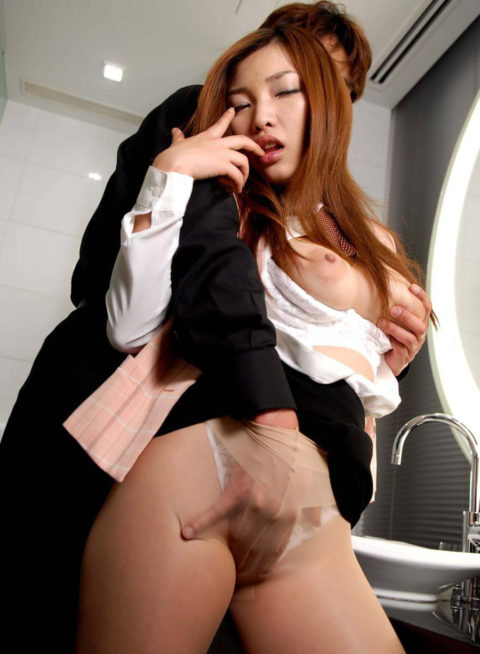 【肉便器】便所で性欲処理に使われてるOLさんのエロ画像集(38枚)・20枚目