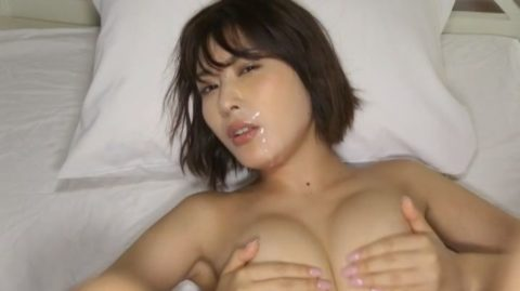 【乳首あり】元AKBからAV墜ち目前の金子智美さんの過激すぎる着エロ画像集(38枚)・25枚目