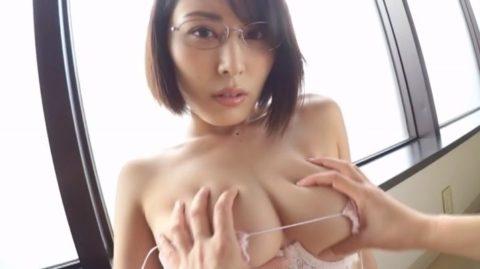 【乳首あり】元AKBからAV墜ち目前の金子智美さんの過激すぎる着エロ画像集(38枚)・3枚目