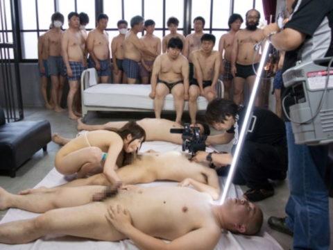 【AV撮影現場】「AV男優裏山~」とか言ってるやつ、これ見ても同じこと言えるの?(画像40枚)・32枚目