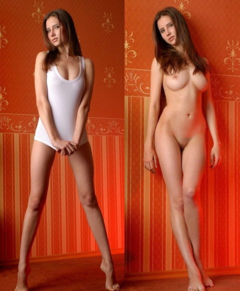 海外美女の「着衣姿」と「ヌード」を比較するエロ画像集(38枚)・3枚目