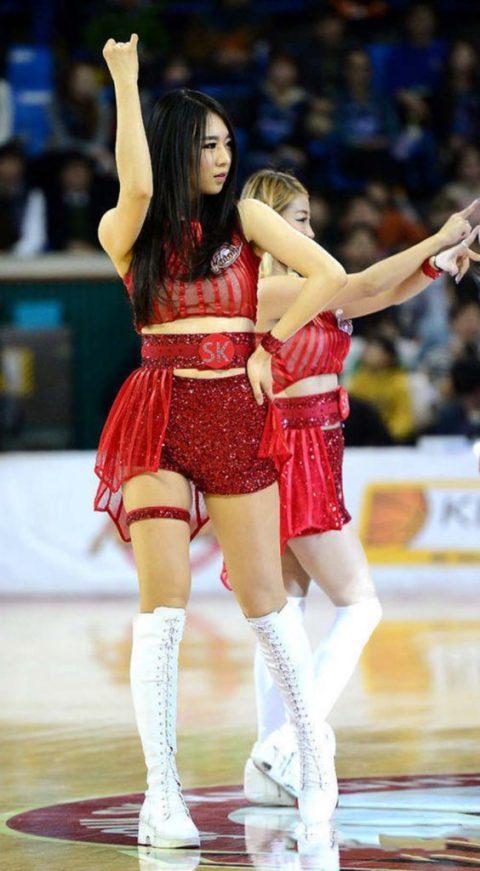 韓国のチアガール、期待を裏切らないセクスィーさwwwwwwwwww(画像38枚)・7枚目