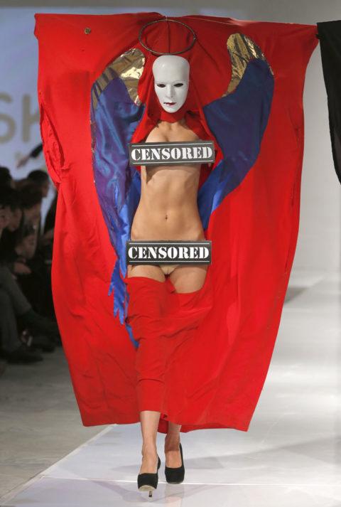 完全にトチ狂った海外のファッションショー、笑いを取りに行ってるの?wwwww(画像38枚)・2枚目