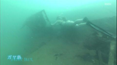 【ギリギリ】TV放送された水中のエロハプニング集まとめ。(36枚)・29枚目