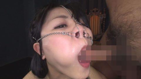 【極マニア】「鼻フック」された強烈ブス女のフェラをご覧くださいwwwwwww・15枚目