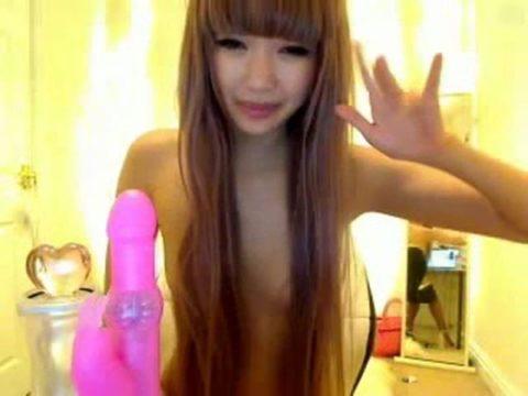 台湾のライブチャットでオナニーする女、ガチで100点やろ。。(画像あり)・24枚目