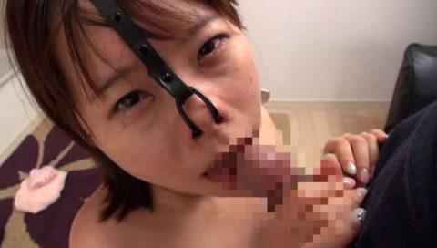 【極マニア】「鼻フック」された強烈ブス女のフェラをご覧くださいwwwwwww・31枚目