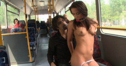 【キチ】バスとか電車でガチでヤッちゃうバカップルが撮影される。。(35枚)・32枚目